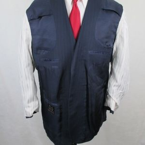 Jos. A. Bank Suits & Blazers - Jos A Bank Sig Coll Pinstripe Wool Silk Suit 39x31